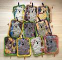 Koala Potholders 1-5 - Click For Enlargement